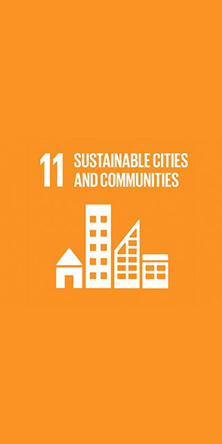 11. Sustainable Cities and Communities 320 x 640