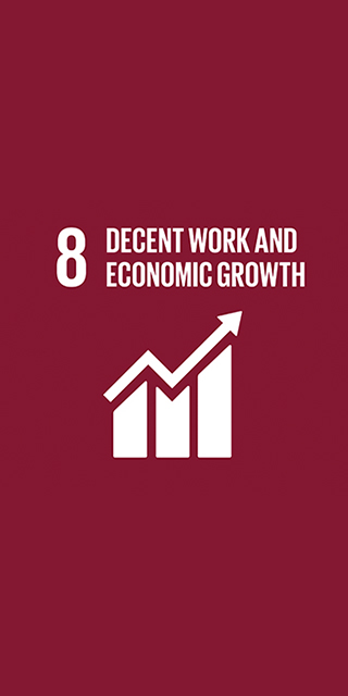 8. Decent Work and Economic Growth 320 x 640